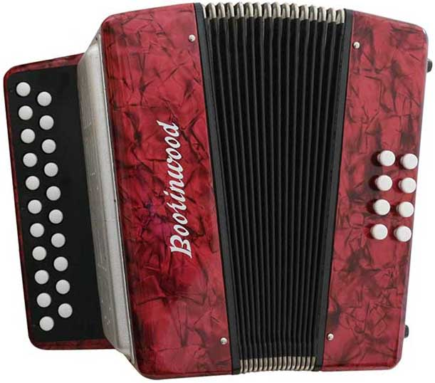 Boorinwood 2 Row Melodeon Image