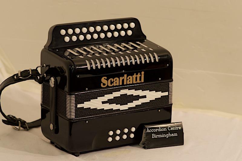 SCARLATTI 2 ROW D/G. Image