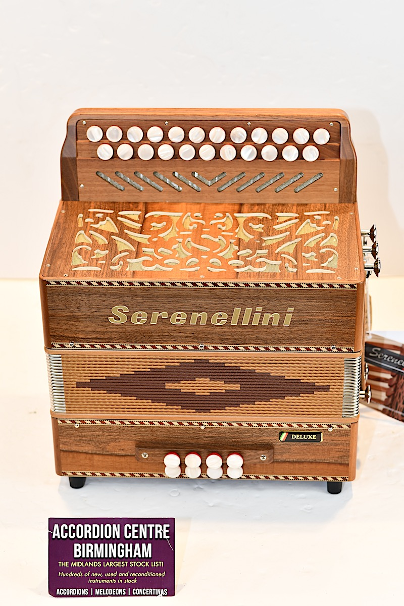 SERENELLINI 233 DELUXE D/G MELODEON Image
